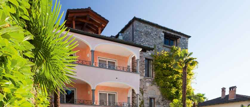 Romantik Hotel Castello Seeschloss, Ascona, Ticino, Switzerland - exterior.jpg